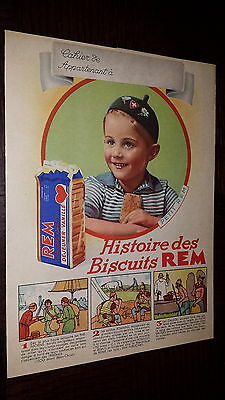 Protege-Cahier - Biscuits Rem
