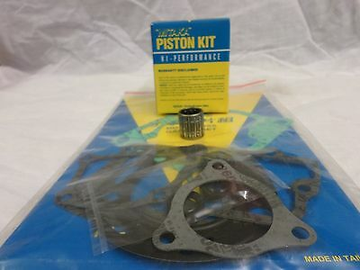 Kawasaki Kx100 Top End Engine Rebuild Gasket Piston Small Bearing Set Kit 98-00