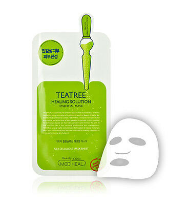 MEDIHEAL Teatree Care Solution Essential Ex MaskSheet Pack Korea Cosmetics 1 pcs
