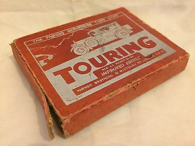1930S Touring Automobile Vintage Car Card Game By Parker Bros England Complete!