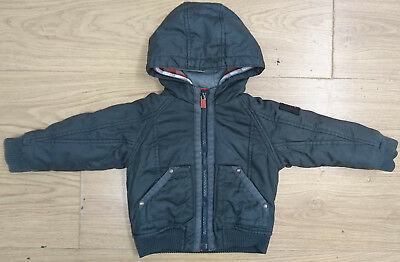 Ted Baker Baby Boy Jacket Age 18-24 Months Thick Double Hooded