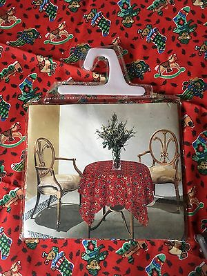 Christmas Table Cloth. 36in x 36in Square
