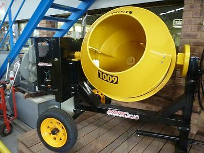 New 600Litre Electric Start Diesel Cement/concrete Mixer