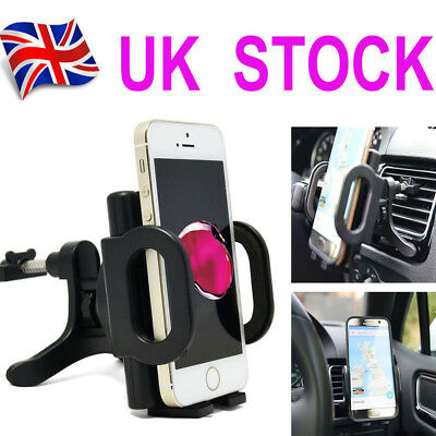 Car Air Vent Clip Cradle Mount Holder Stand For Mobile Phone GPS iPhone Samsung