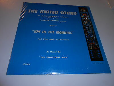 """THE PROTESTANT  HOUR    ""JOY IN THE MORNING ""LP vinyl m-nm"