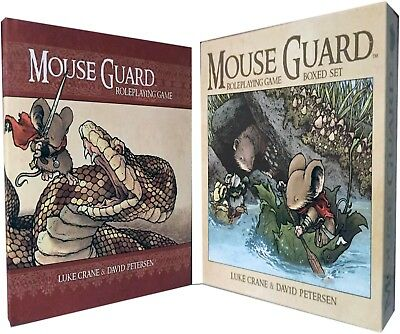 Mouse Guard Roleplaying Game Box Set by David Petersen Children Gift Pack