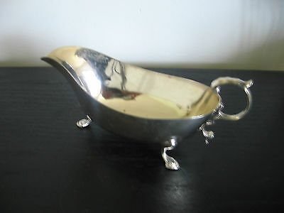Mark Willis & Son Sterling Silver Sauce Boat Dish