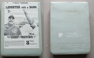 Blaster Bates Laughter With A Bang Vol 1 8 track cartridge unplayed