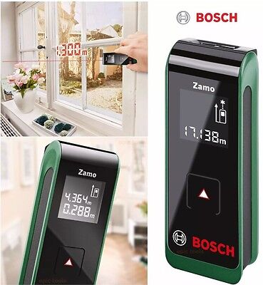 BOSCH ZAMO 20m Metric Laser Digital Distance Tape Measurer Pointer