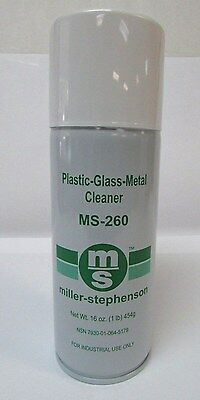 Miller Stephenson MS-260 SafeZone Glass Plastic & Metal Cleaner Industrial NEW!!