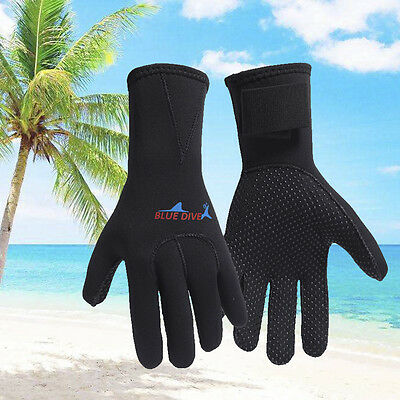 3mm Neoprene Wetsuit Gloves Kayak Diving Swimming Surfing Gloves Adult Size
