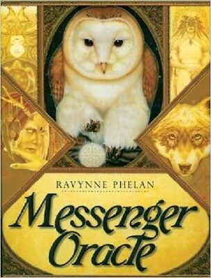 Messenger Oracle Deck Cards & Guidebook Wiccan Pagan Metaphysical