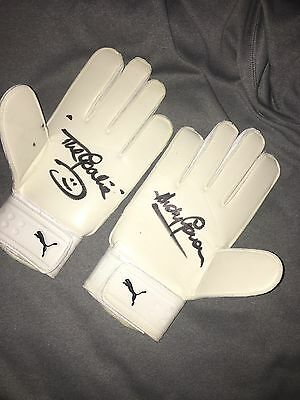Andy Goram hand signed pair of goalkeeper gloves