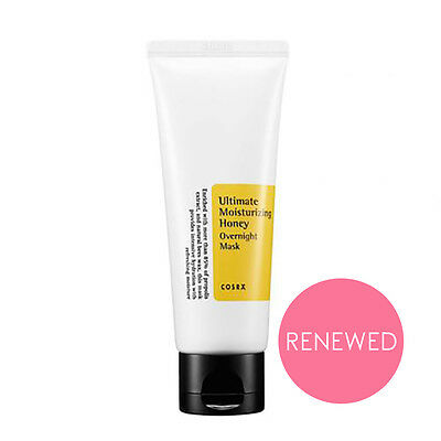 [COSRX] Ultimate Moisturizing HONEY Overnight Mask 60ml / Night Treatments