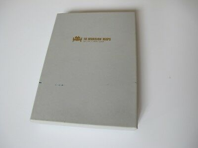 Space Invader Set Box 10 Maps By Invader Signed No Kaws