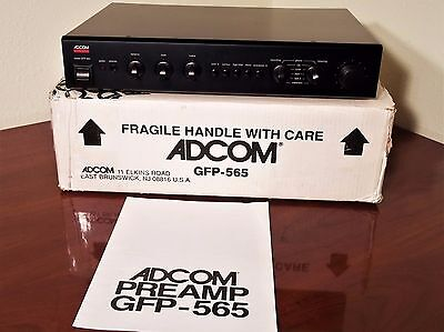 Adcom GFP-565  Preamplifier with Owner's Manual & Box