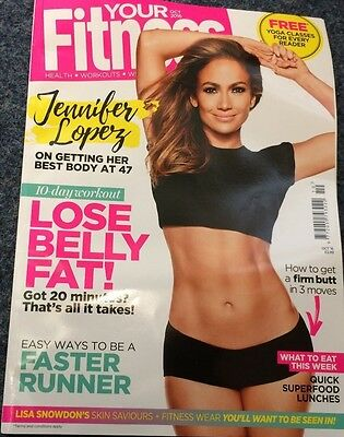 Your Fitness Magazine Oct 2016 featuring Jennifer Lopez at 47