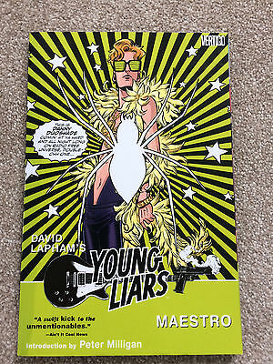 Young Liars Volume 2: Maestro by David Lapham Paperback 2009 Graphic Novel Comic