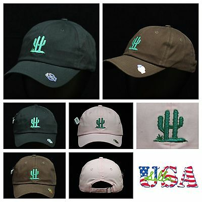 Cactus Dad Hat Plain Baseball Cap Unstructured Fashion Hats Casual Cotton Caps