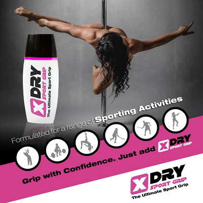 X-Dry Grip Solution for Hands 1.4oz - Golf, Pole Fitness, Tennis, + ALL SPORTS