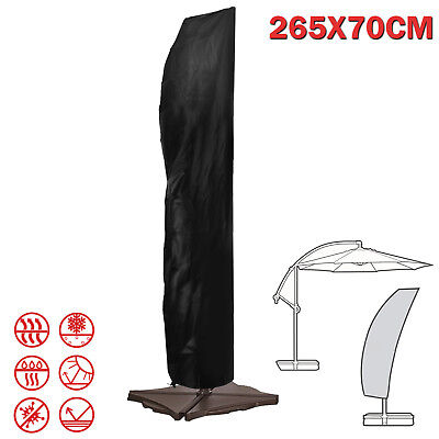 Umbrella Cover Weatherproof Parasol Banana Patio Cantilever Protective Outdoor