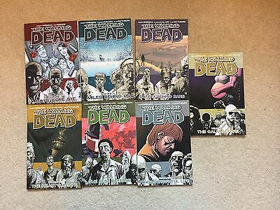 Walking Dead Volumes 1 - 7