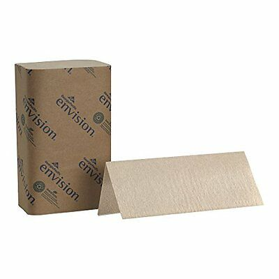 "Georgia-Pacific Envision 23504 Brown Singlefold Paper Towel, 10.25"" Leng..."