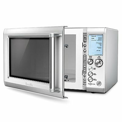 Breville BMO734XL  1.2 Cu. Ft. Mid-Size Microwave - Stainless steel