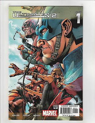 The Ultimates 2 #1 NM- 9.2 Marvel Comics Avengers