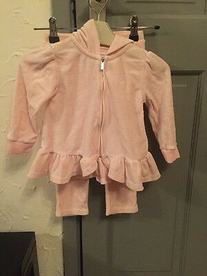 Baby Girls Ralph Lauren Pink Tracksuit outfit age 2 - 24 Months