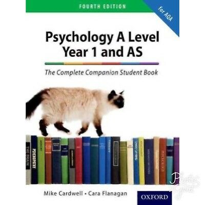 Psychology A Level Year 1 And AS The Complete Companion Student Book 4th Edition