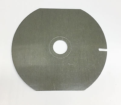 """Omega D2 w/27mm hole Enlarger Flat Lens Mount Board 5.75x6.5"""" in good condition"""