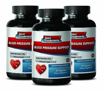 Olive Leaf Extract - Blood Pressure Support 820mg - Help Stress Level Caps 3B