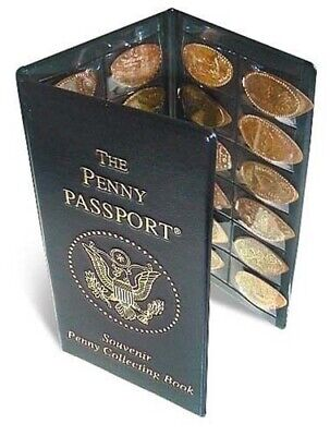 Penny Passport Souvenir Elongated Penny Album New Gift Fast Free Shipping