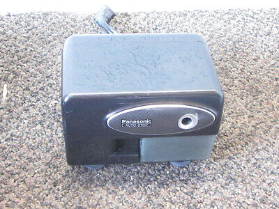 Panasonic Model KP-310 Electric Pencil Sharpener Auto Stop Black Works