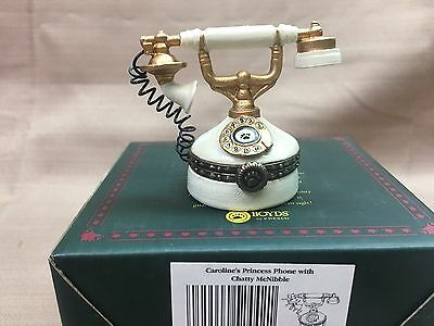 NIB Carolines Princess Phone Boyd's Treasure Box 1E