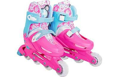 Zinc Inline Owl Roller Skates - Pink. From the Official Argos Shop on ebay