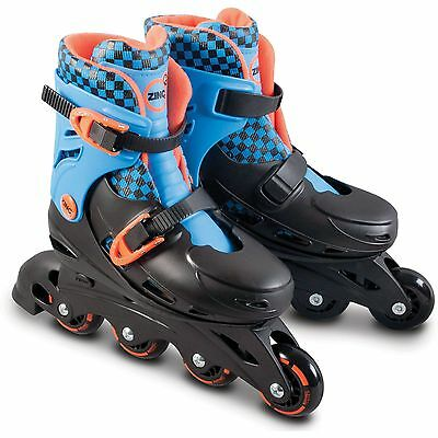 Zinc Inline Owl Roller Skates - Blue Check. From the Official Argos Shop on ebay