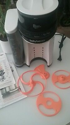 Baby Brezza Formula Pro One Step Food Maker  ~Missing Bottle Grate and Drip Tray