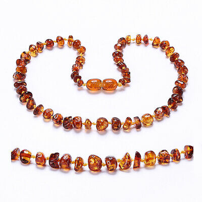Baltic Amber Necklace for Baby - Simple Package
