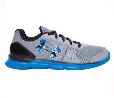 ce9360e2 NEW BOY'S UNDER Armour Shoes Youth Kid's UA BGS MICRO G SPEED SWIFT  1266302-035