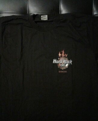 Hard Rock Cafe Shanghai collectable t-shirt adult XL