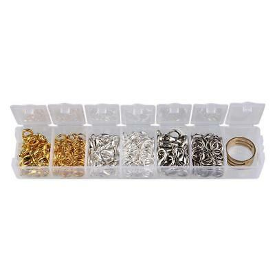 Box Mixed Lobster Clasps and 7mm Jump Rings Jewelry Findings Accessories DIY