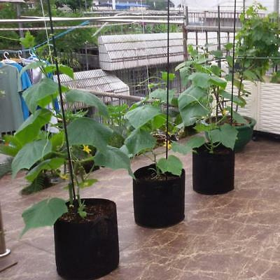 4Pcs/Pack 1 2 3 5 7 10 15 20 Gallon Fabric Grow Pots Roots Breathable Plant Bags