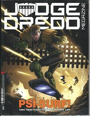 Judge Dredd Megazine # 384 (Psi-Surf! Sealed With Supplement, 20 June 2017), New