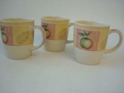 Marks And Spencer Wild Fruits 3 X Mugs
