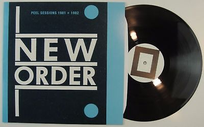 NEW ORDER – Peel Sessions 1981+1982 LP Rare Unique Cov. MINT Europe 2009 Booglet