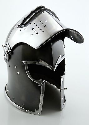 Medieval Barbute Helmet Armour Helmet Roman knight helmets with cotton cap new
