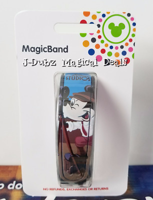 NEW Disney Parks Mickey Hollywood Studios  Magicband Magic band Link It Later LE