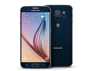 Samsung Galaxy S6 SM-G920A-64&32GB-Black/Gold Platinum AT&T Smartphone ON Sale!